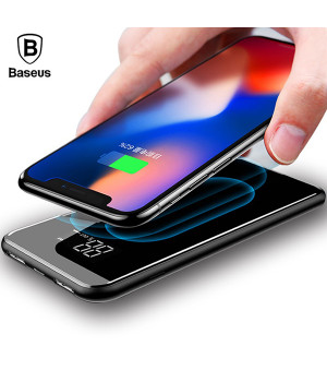ВНЕШНИЙ АККУМУЛЯТОР Baseus full screen bracket wireless charge Power Bank 8000mAh